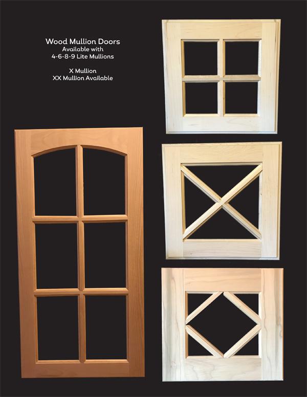 Wood Mullion And Shaker Doors Environmental Products